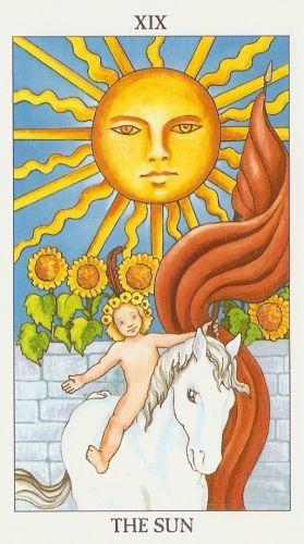 Značenje tarot karte Sunce
