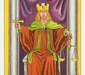 Značenje tarot karte Pravda