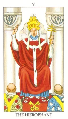 Značenje tarot karte Papa