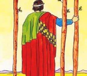 Značenje tarot karte Trojka štapova