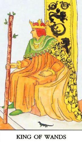 Značenje tarot karte Kralj štapova