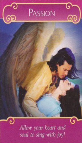 Karta Anđela ljubavi - strast
