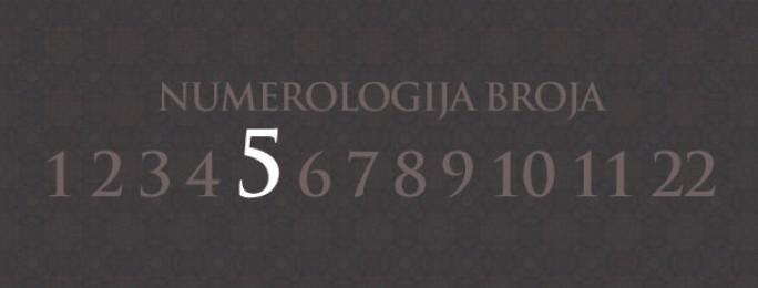 Numerologija za broj 5