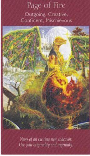 Anđeoski tarot - Mala Arkana - Odjela Vatre