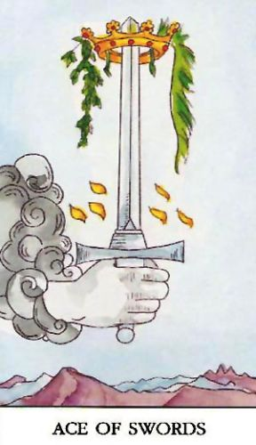 Značenje tarot karte As mačeva