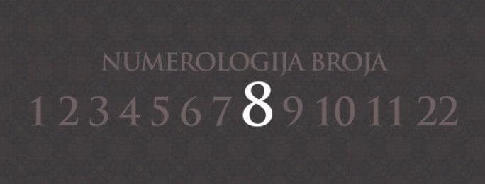 Numerologija za broj 8