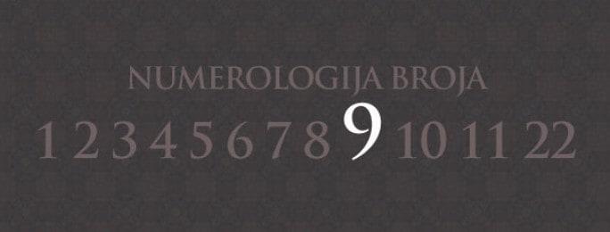 Numerologija za broj 9
