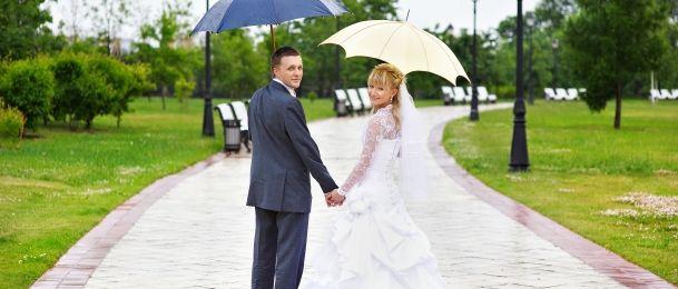 Kišno vjenčanje - sitnice o kojima trebate brinuti