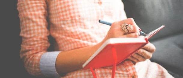 Pisanje dnevnika kao terapija