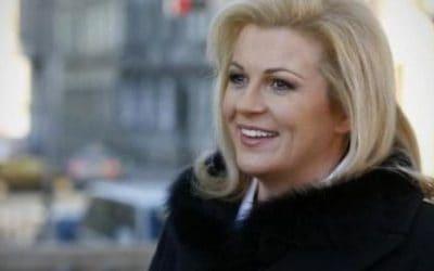 """Kolinda Grabar-Kitarović – Podrška i pomoć """"izvana"""" u natalnoj karti"""
