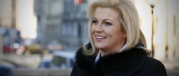 """Kolinda Grabar-Kitarović - Podrška i pomoć """"izvana"""" u natalnoj karti"""